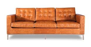 Distressed Leather Sofa Brown Florence Sofa Vintage Brown Premium Distressed Leather Kardiel