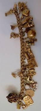 gold lucky charm bracelet images 214 best gold charm bracelet images charm bracelets jpg