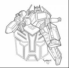 awesome transformers bumblebee bee coloring pages with optimus