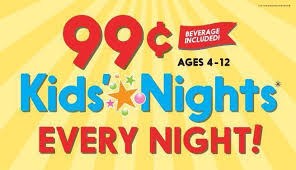 How Much Is Golden Corral Buffet On Sunday by Golden Corral 99 Kids U0027 Buffet Every Night Wyb Buffet