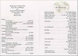 wedding reception program wedding reception program tolg jcmanagement co