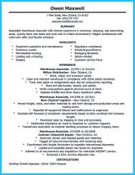 warehouse resume skills summary customer if you need to propose a job and work in a group you need to