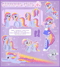 glittering cloud ultimate reference guide by centchi deviantart