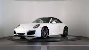 porsche 911 carrera new 2018 porsche 911 carrera 4s cabriolet