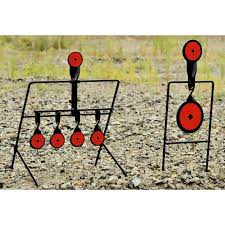 guide gear steel auto reset and spinner shooting targets 202837