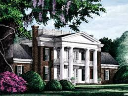 plantation house plans elwood luxury plantation home plan 128d 0005 house plans and more