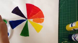 how to make a color wheel youtube
