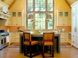 Two Toned Kitchen Cabinets by Kitchen Small Kitchen Table With Bar Stools And Laminate Wood