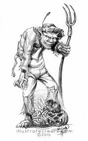 skull and skulluggery horror and macabre art illustration dmac studio
