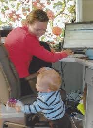 the secret to working at home with small children julia roller