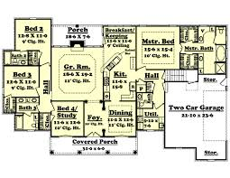 country style house plan 4 beds 3 50 baths 2500 sq ft plan 430 34