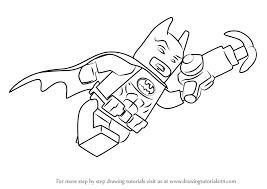 learn draw batman lego batman movie lego