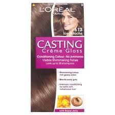 Light Brown Dye L U0027oreal Casting Creme Gloss 613 Iced Mocha Light Brown Semi