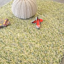 brink and campman rocks shaggy wool rugs 70517 ivory green free