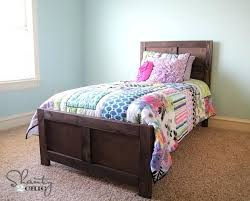 home design gold free pottery barn kids twin bed free plans to build a wood bed inspired