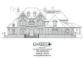 shannon house plan house plans by garrell associates inc