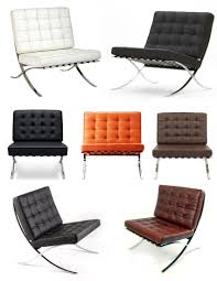 google chairs iconic modern style the u201cbarcelona chair u201d mid century office