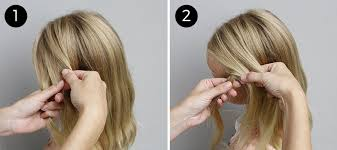 braided hairstyle instructions step by step try this hairstyle diagonal ladder braid into a side ponytail