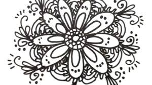 how to draw cool designs draw flower designs mat