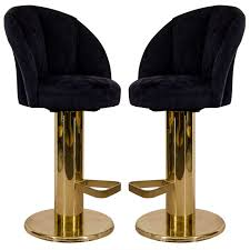 unusual mid century modern upholstered bar stools with back and