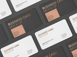 Round Business Card Business Card Mockup Round Corner Product Mockups Creative Market