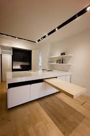 cuisine avec coin repas un coin repas modulable dans une cuisine femme actuelle