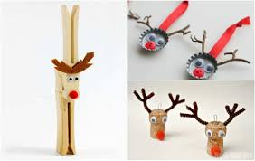 21 simple and easy reindeer crafts for kids the inspiration edit