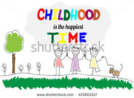 children group kids hand draw letters stock vector 425541571