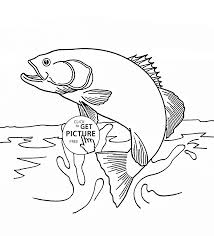 fish splash coloring page for kids animal coloring pages