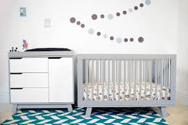 babyletto modo 3 in 1 convertible crib hudson dresser with change tray dressers u0026 changing tables