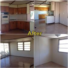 home interior remodeling mobile home makeover before and after rehab pictures mobile