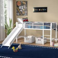 3 person bunk beds wayfair Three Person Bunk Bed