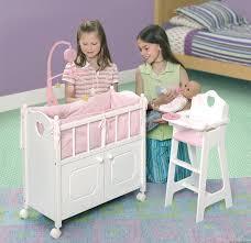 badger basket doll crib with cabinet badger basket white doll crib with cabinet bedding mobile wheels