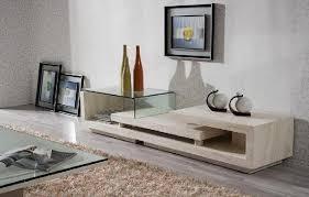 white shelves contemporary tv console orange county white shelves