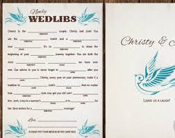 wedlibs airplane wedding madlib card printable wedding