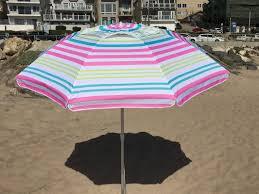 Lightweight Beach Parasol Parasol 7 U0027 Beach Umbrella U0026 Reviews Wayfair