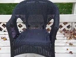 broken resin wicker chair mp4 youtube