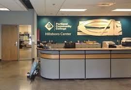 Registration Desk Design Hillsboro Center Pcc
