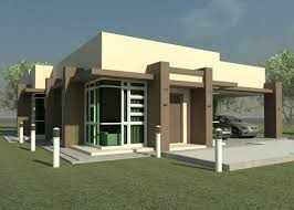 ultra modern home plans flat roof modern house plans crafty inspiration 1 small with