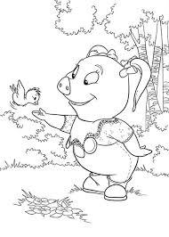 piggley winks feeding bird seed jakers adventure