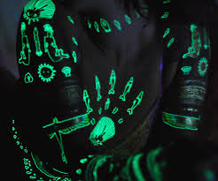 glow in the dark tattoos vs black light tattoos u2014 svapop wedding