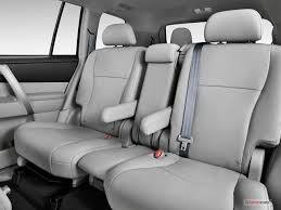 2012 toyota highlander interior u s news u0026 world report