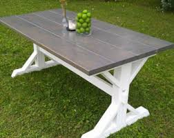 Picnic Table Dining Room Dining Room Table Etsy