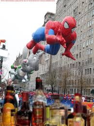 spiderman thanksgiving the macy u0027s thanksgiving day parade drinking game