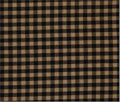 Black Check Curtains Black Check Scalloped Curtains By Vhc Brands