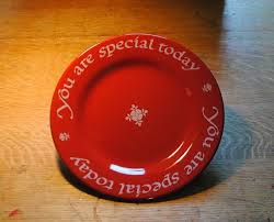 plate you are special 7 best celebration plate ideas images on plate