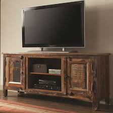 furniture traditional wooden reclaimed wood tv stand design with