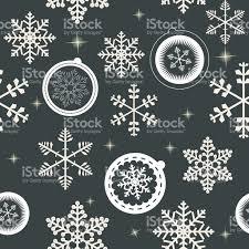 Beautiful Texture Winter Christmas New Year Seamless Pattern Beautiful Texture Wi