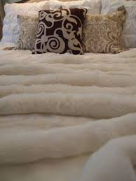 Fake Fur Blanket Accessories Sheep Fur Blanket With Beautiful Comfy Sheepskin