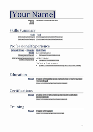 resume format word document resume format in word document fresh forms resume